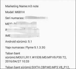 """Meizu M3 Note Global Rom (Türkçe) Yükleme """"Firmware too old"""" Hatası Çözümü"""